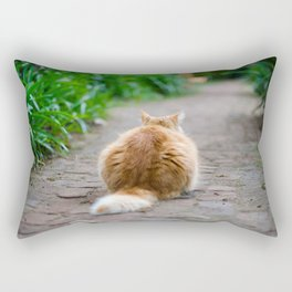 Never Look Back Rectangular Pillow