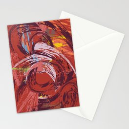 Red Bang Stationery Cards