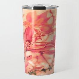 Magnolia Love in Apricot Travel Mug