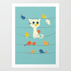 Birdwatching Art Print