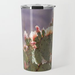 Prickly Pear Blooms I Travel Mug