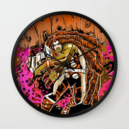 THE MIGHTY SHANGO Wall Clock