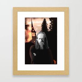 Burzum Framed Art Print