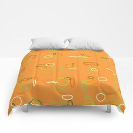 'ROUND IN CIRCLES Comforters