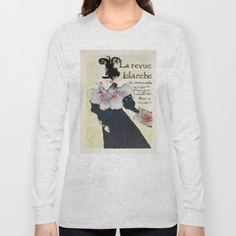 La Revue Blanche Toulouse Lautrec Long Sleeve T-shirt