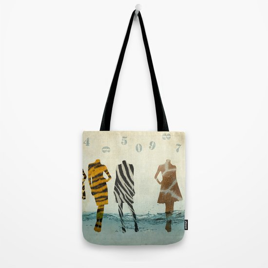 fashion line up Tote Bag