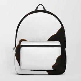 Halloween Black Cat Silhouette  Backpack