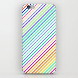 Re-Created Rakes No. 9 by Robert S. Lee iPhone Skin