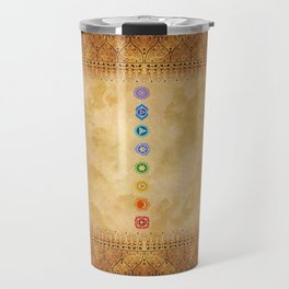 Chakras Kali | Beyond the time  Travel Mug