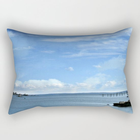 On A Clear Day Rectangular Pillow