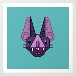 Bat! Art Print
