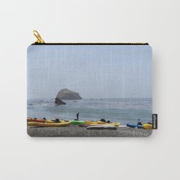 Canoes At Bodega Bay Carry-All Pouch