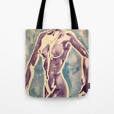 Poised dancer Tote Bag