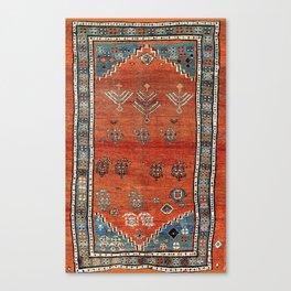 Bakhshaish Azerbaijan Northwest Persian Carpet Print Canvas Print