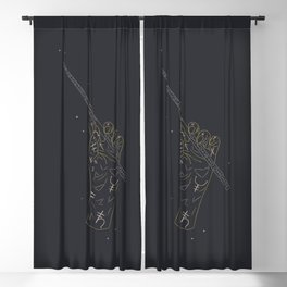 The Day - Illustration Blackout Curtain