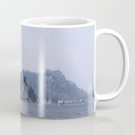 Misty Bled Lake Coffee Mug