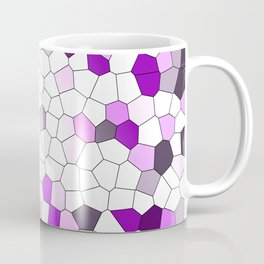 purple pink Mosaik Graphic Coffee Mug
