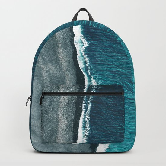 Beach Abstract Backpack