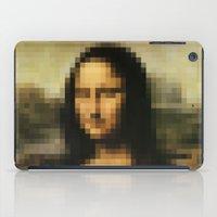 mona lisa iPad Cases featuring Mona Lisa by Bilal