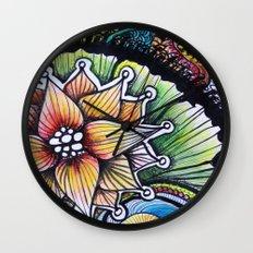 Floralita Wall Clock