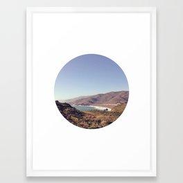 Hidden Cove Framed Art Print