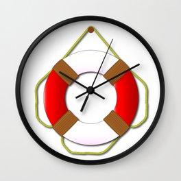 Lifebelt Wall Clock