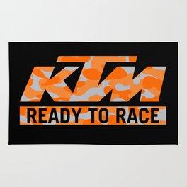 KTM Camouflage Rug