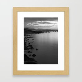 Along The Hikshari' Framed Art Print