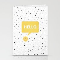 good morning Stationery Cards featuring Good Morning by Elisabeth Fredriksson
