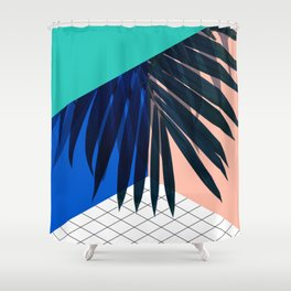Eclectic Geometry Shower Curtain