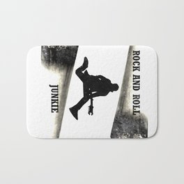 Rock and Roll Junkie Bath Mat