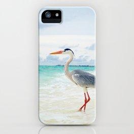 Love2Snap Instagram pic Bird Maldives iPhone Case