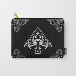 Ace of Spades Carry-All Pouch