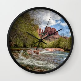 Cathedral Rock, AZ Wall Clock