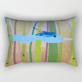 Concrete Oasis IV Rectangular Pillow