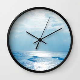 Hookipa Beach Blue Sensation Wall Clock