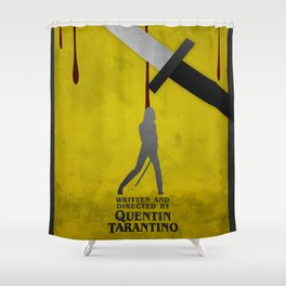 Kill Bill, 2003 (Minimalist Movie Poster) Shower Curtain