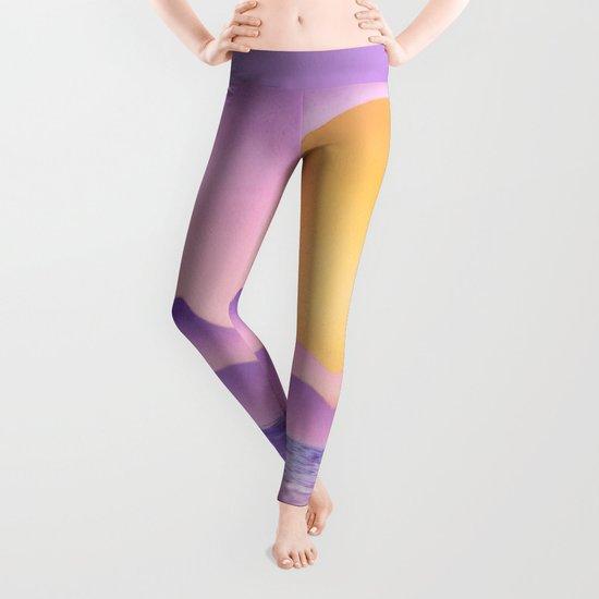 Sunset - purple variation Leggings