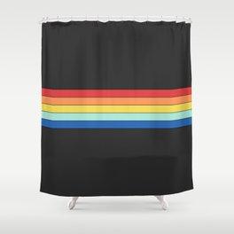 Vintage T-shirt No8 Shower Curtain