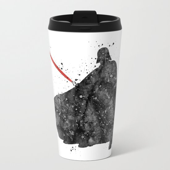 Darth Vader Star . Wars Metal Travel Mug