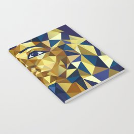 Golden Tutankhamun - Pharaoh's Mask Notebook