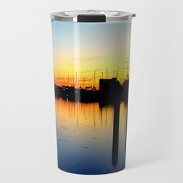 Close of Day, Over the Bay Travel Mug