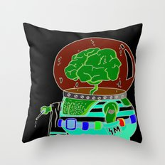 she sells .... Throw Pillow
