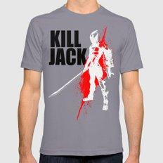 KILL JACK - ASSASSIN MEDIUM Mens Fitted Tee Slate