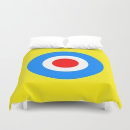 Abstract Pop Yellow Duvet Cover