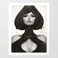 artgerm Art Prints featuring Pepper Spade by Artgerm™