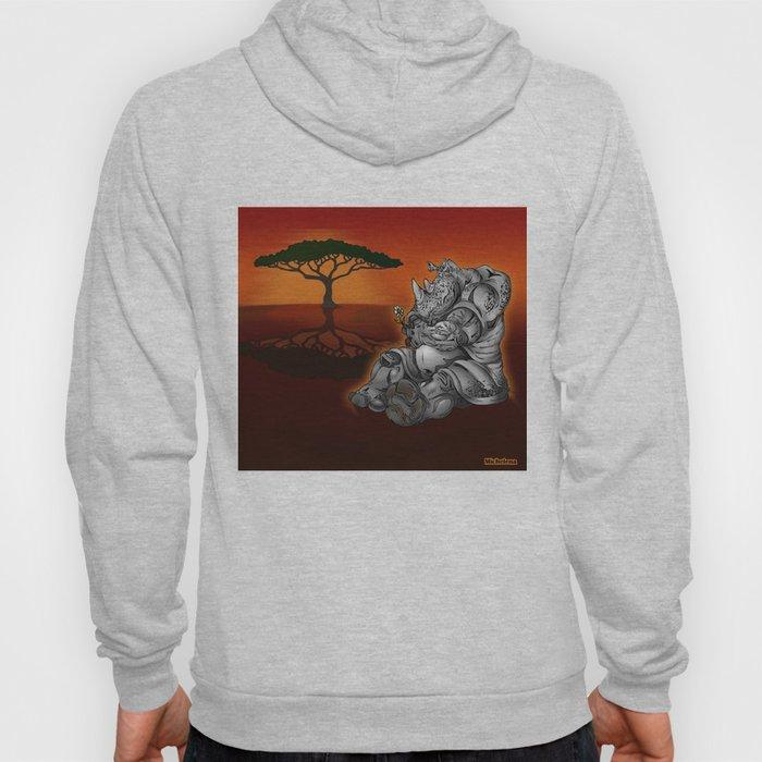Tender Rhino  Hoody