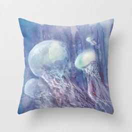 Jelly-ish Throw Pillow