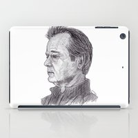 bill murray iPad Cases featuring Bill Murray by jamestomgray