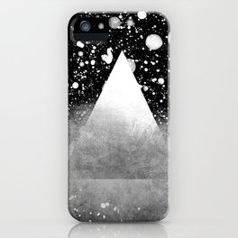 Triangle Composition IV iPhone Case